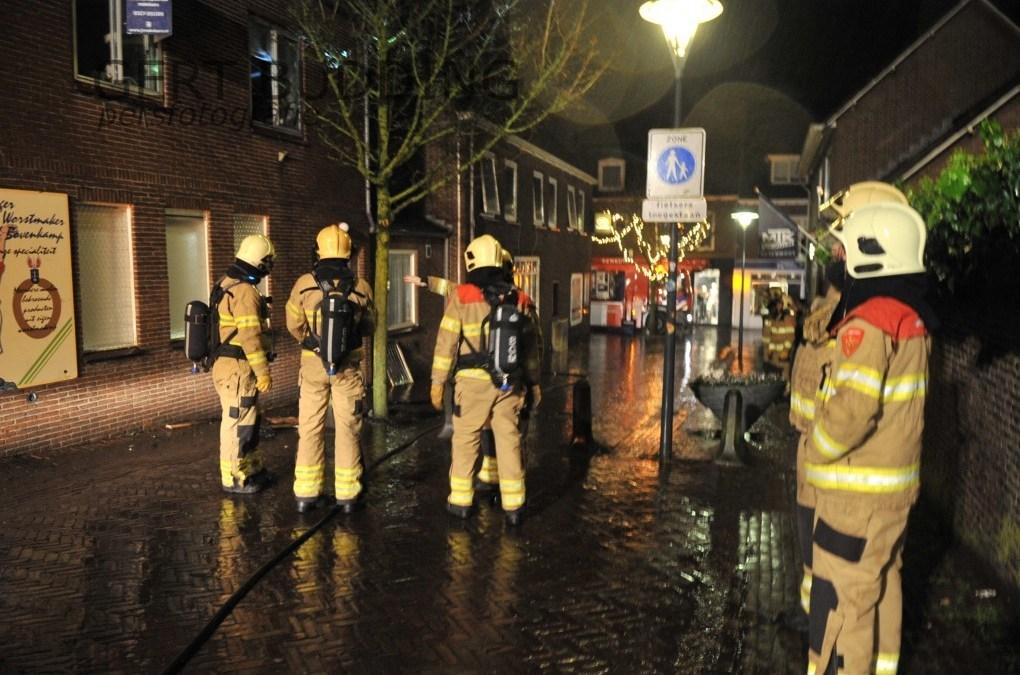 Brand in woninig eerste verdieping aan Beyerstraat Renkum