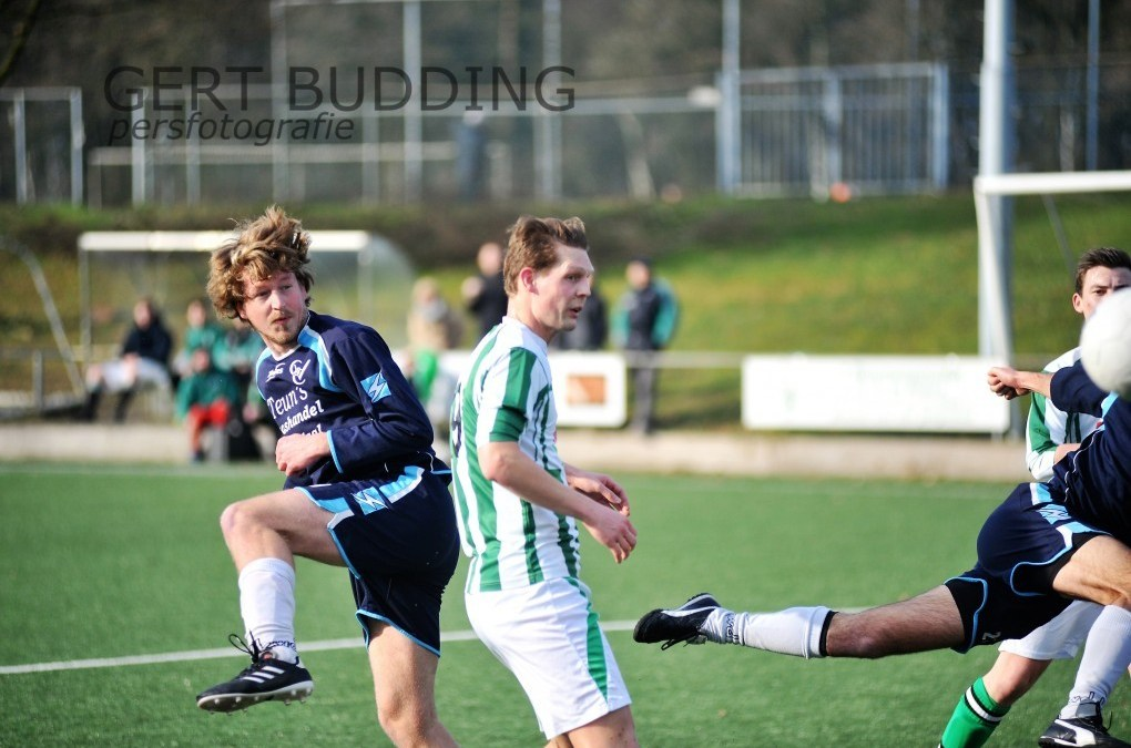 GVC walst in derby over WVV Wageningen
