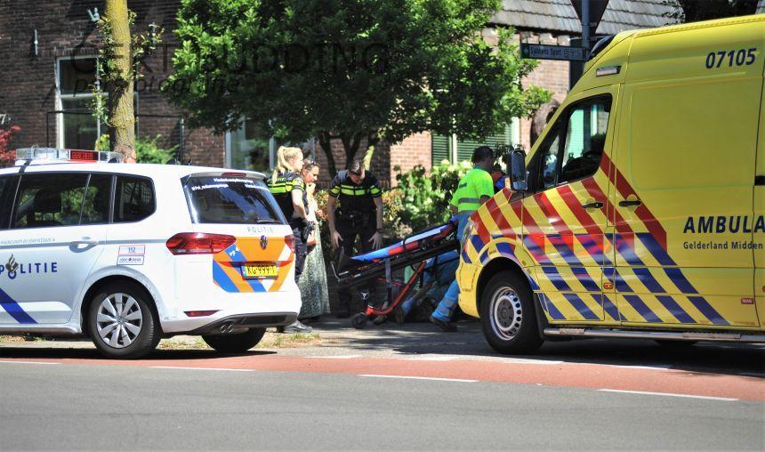Vrouw raakt gewond bij aanrijding Bennekomseweg Renkum