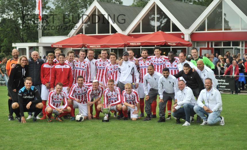 Bennekom pakt Wageningen Cup, eerste prijs voor trainer Arnold Brehler