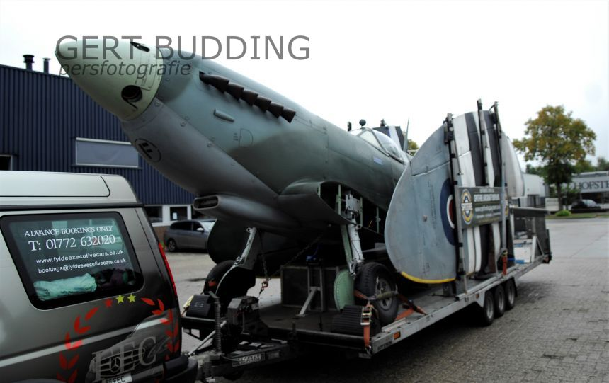 Vrijdag en zaterdag Mark IX Spitfire op Renkumse Heide