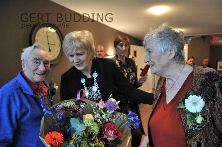Echtpaar Jos en Stien Rothuis 60 jaar getrouwd