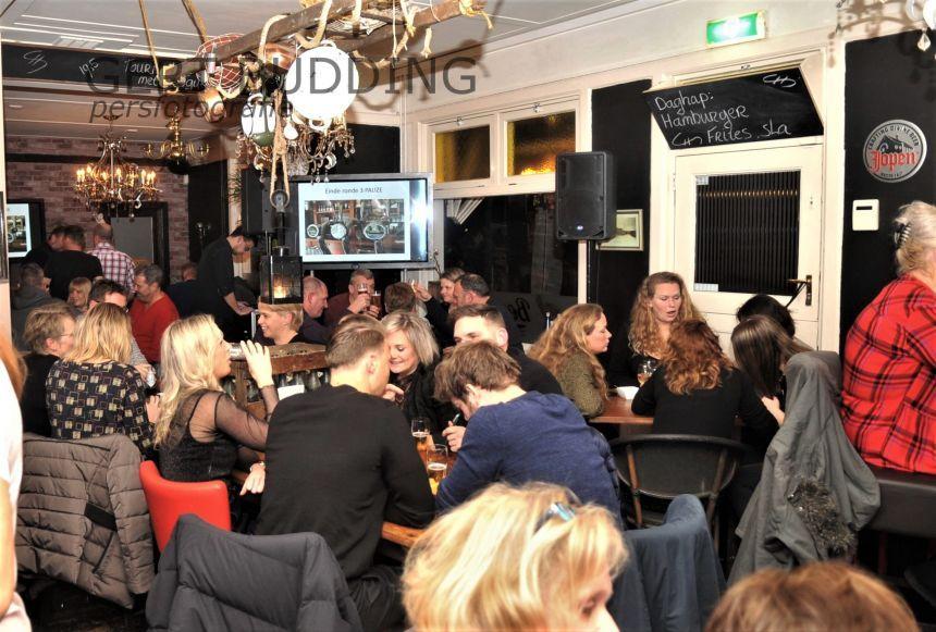 Ook tweede Pub Quiz eetcafe Bender een succes