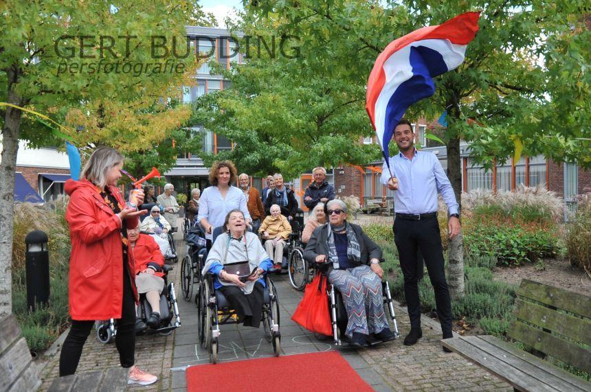'Gelders Ommetje' voor bewoners De Sonnenberg in het kader van Nationale Sportweek