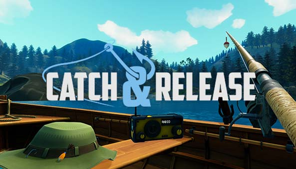 Vr fishing game 39 catch release 39 gets release date for Fishing vr games