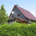 Fassadenverkleidung, Naturschiefer Schablone