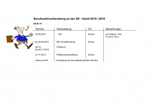 BWV Termine 2015-2016 Stufe 10