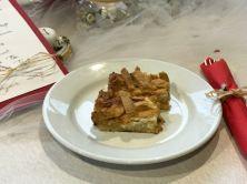 Der warme Apple Pie des polnischen teams war zum Dahinschmelzen.