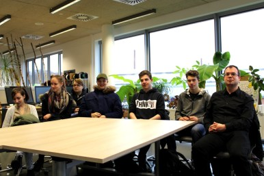 Gesamtschule Königs Wusterhausen_Ausflug in das VINN Lab der TH Wildau_Januar 2018_1
