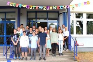 Gesamtschule Königs Wusterhausen_Feierliche Einschulung Schuljahr 2018-19_Klasse 7_1