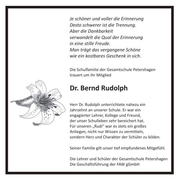 GSP_Traueranzeige_Hr. Dr. Bernd Rudolph_Maerz 2016