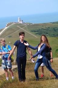 GSP_Sommerreise-Hastings-2016_Gruppenfoto-an-der-Klippe