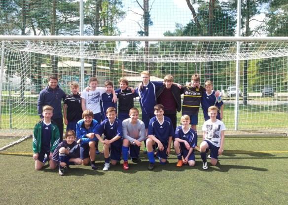 Gesamtschule Petershagen_Jugend trainiert für Olympia 2017_Mannschaftsfoto