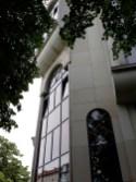 Gesamtschule Petershagen_Exkursion zur Moschee in Berlin Kreuzberg_Außenansicht Eingang