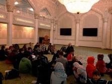 Gesamtschule Petershagen_Exkursion zur Moschee in Berlin Kreuzberg_Fragerunde 1