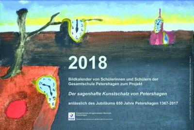 Gesamtschule Petershagen_Kunstkalender 2018