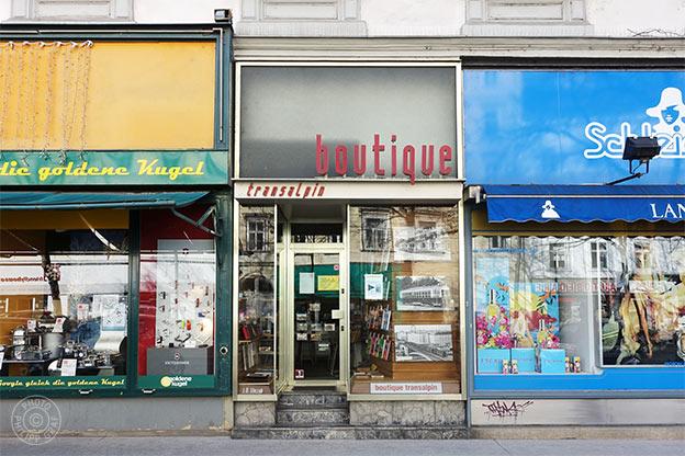 Boutique Transalpin Verlag und Buchhandlung Slezak KG: 1040 Wien
