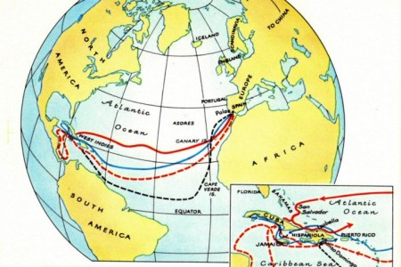 christopher columbus route maps » Full HD Pictures [4K Ultra]   Full ...