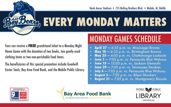 Every Monday Matters Flyer