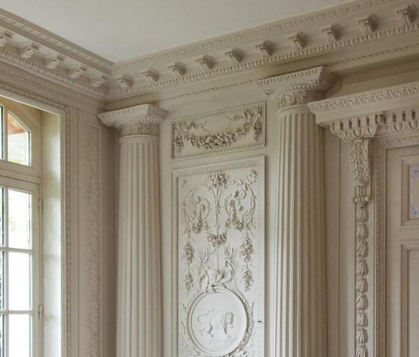 Гипсовые колонны ФОТО в интерьере, каталог | ГессоСтар