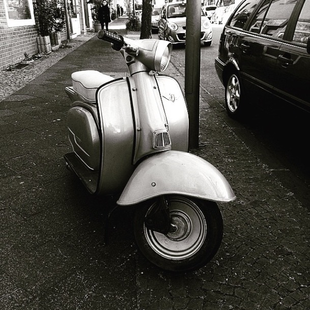 The german #Vespa / Zündapp
