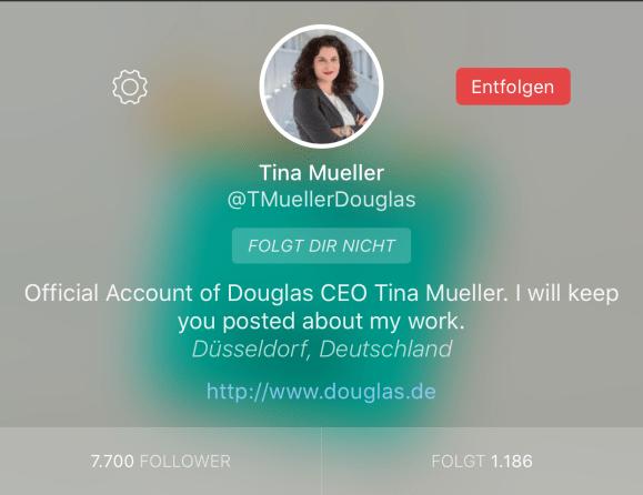 Tina Müller CEO Twitter