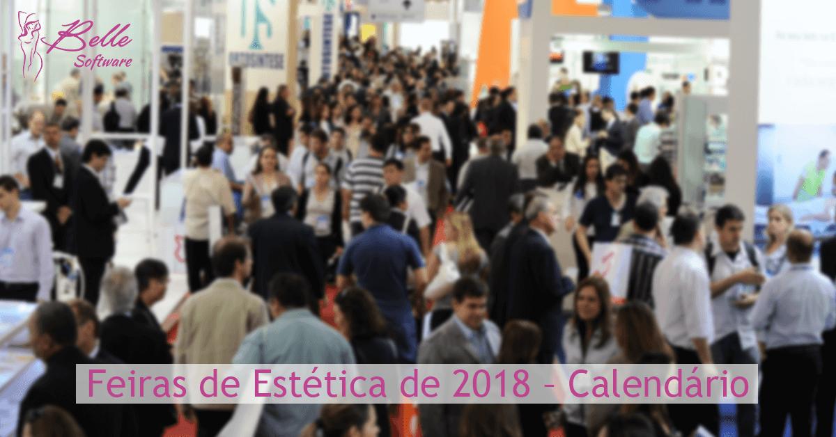 Feiras de Estética de 2018 – Calendário