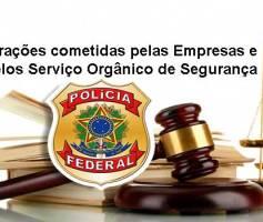 Infrações cometidas pelas Empresas e Serviço Orgânico de Segurança