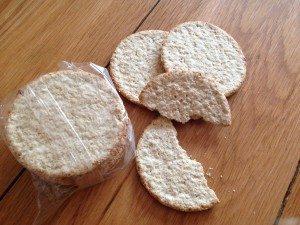 Nairns oatcakes, hypo kit