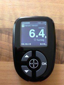 High fasting levels