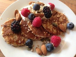 example meal plan - banana pancakes