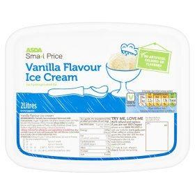 asda smart price ice cream