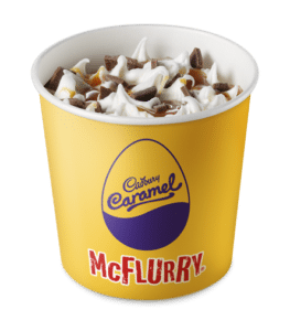This McFluffy has 60g of carbs, that's the equivalent of 15 tsp of sugar!