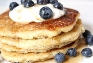 Almond and Flaxseed Pancakes