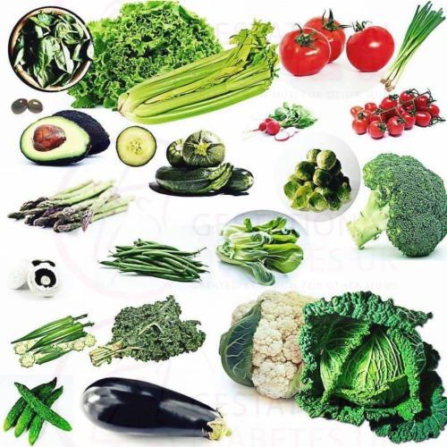 lower GI veg