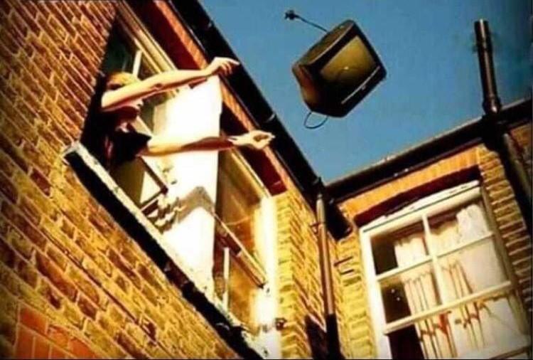 Deja de ver la televisión