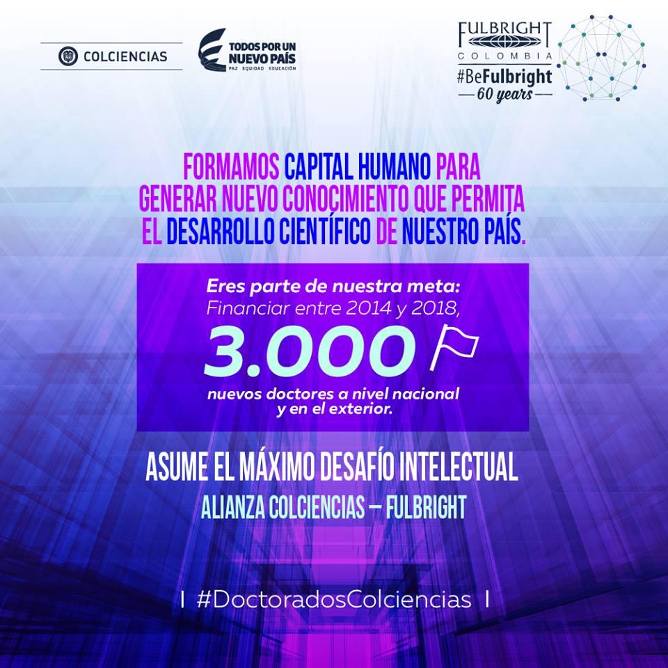 colciencias-y-fulbright-colombia-otorgan-40-becas-de-doctorado-a-profesionales-academicos-e-investigadores