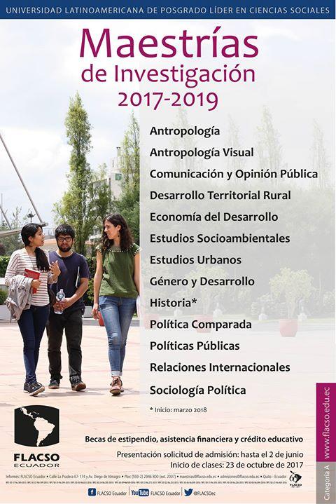 flacso-ecuador-abre-su-convocatoria-de-maestrias-2017-2019