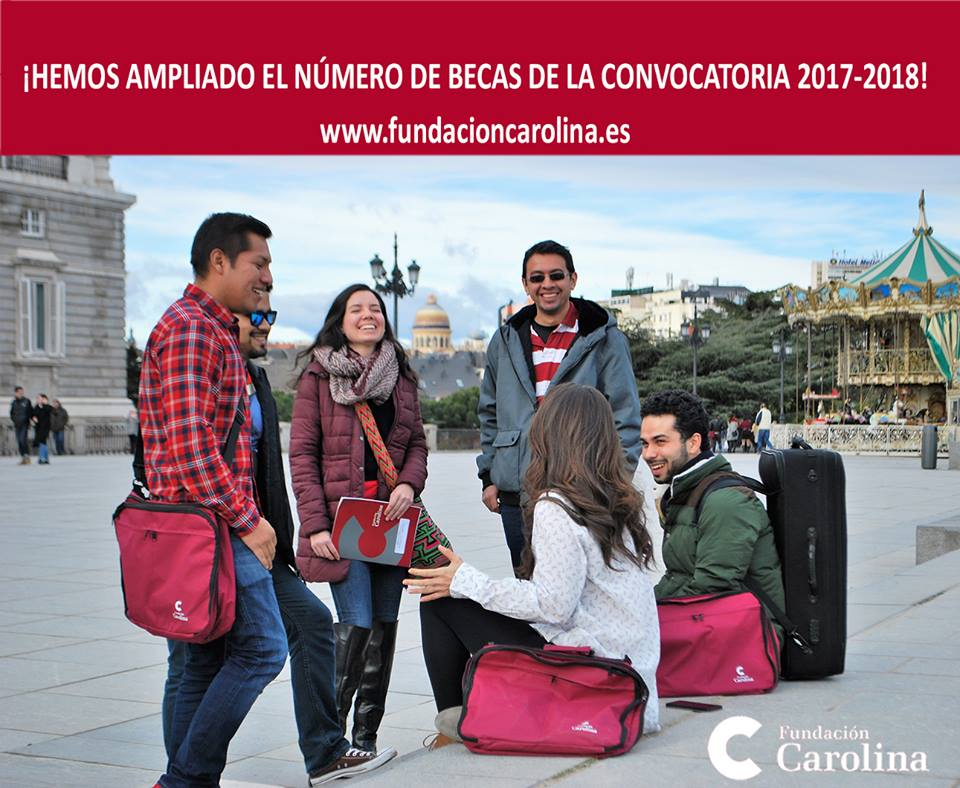 fundacion-carolina-amplia-el-numero-de-becas-convocatoria-2017-2018
