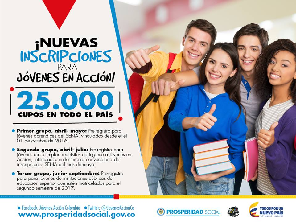 25-mil-nuevos-cupos-para-ingresar-al-programa-jovenes-en-accion-prosperidad-social