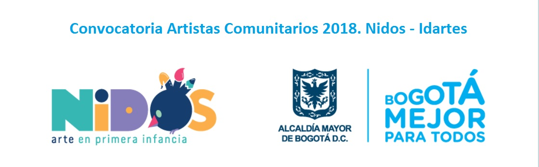 convocatoria-artistas-comunitarios-2018-nidos-idartes