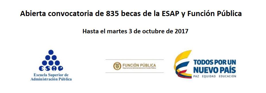 convocatoria-de-835-becas-de-la-esap-y-funcion-publica-hasta-el-3-de-octubre-de-2017