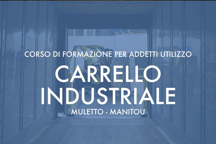 """Corso per addetto all'utilizzo di Carrello semovente (""""muletto"""") e Carrello a braccio Telescopico (""""manitou"""") – Olbia novembre – dicembre 2018"""