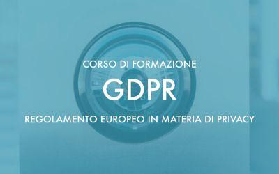 Corso sul Regolamento Europeo in materia di Privacy – Orosei 4 e 5 Luglio 2018