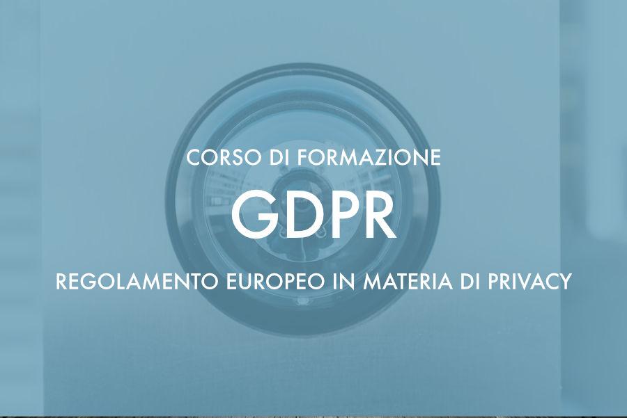 Corso di aggiornamento gdpr privacy Olbia Sassari