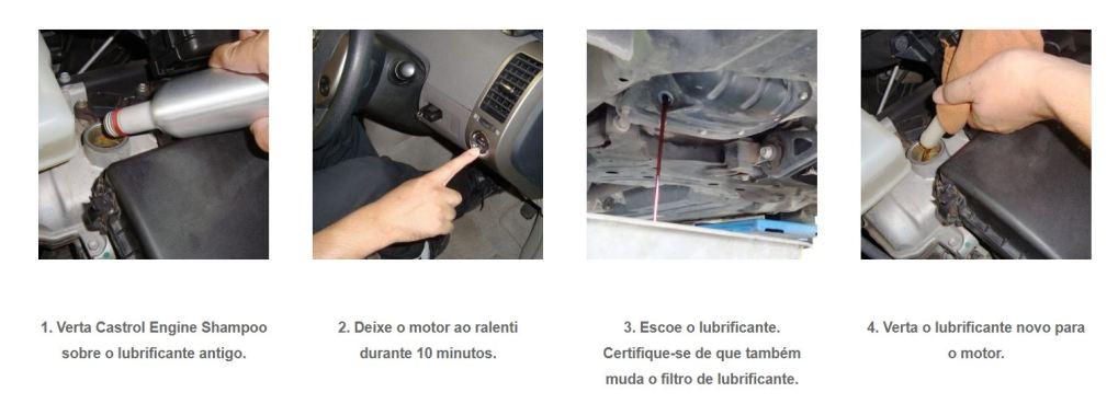 CASTROL ENGINE SHAMPOO - Limpeza em Profunfidade de Motores 2
