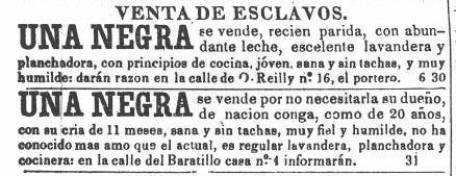Image result for venta de esclavos anuncios coloniales