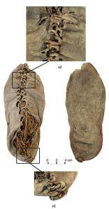 Lederschuh aus der Höhle Areni