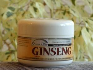 Ginseng Creme mit Cajaputi