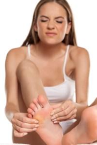 Wohltuende Massage für die schmerzenden Füße
